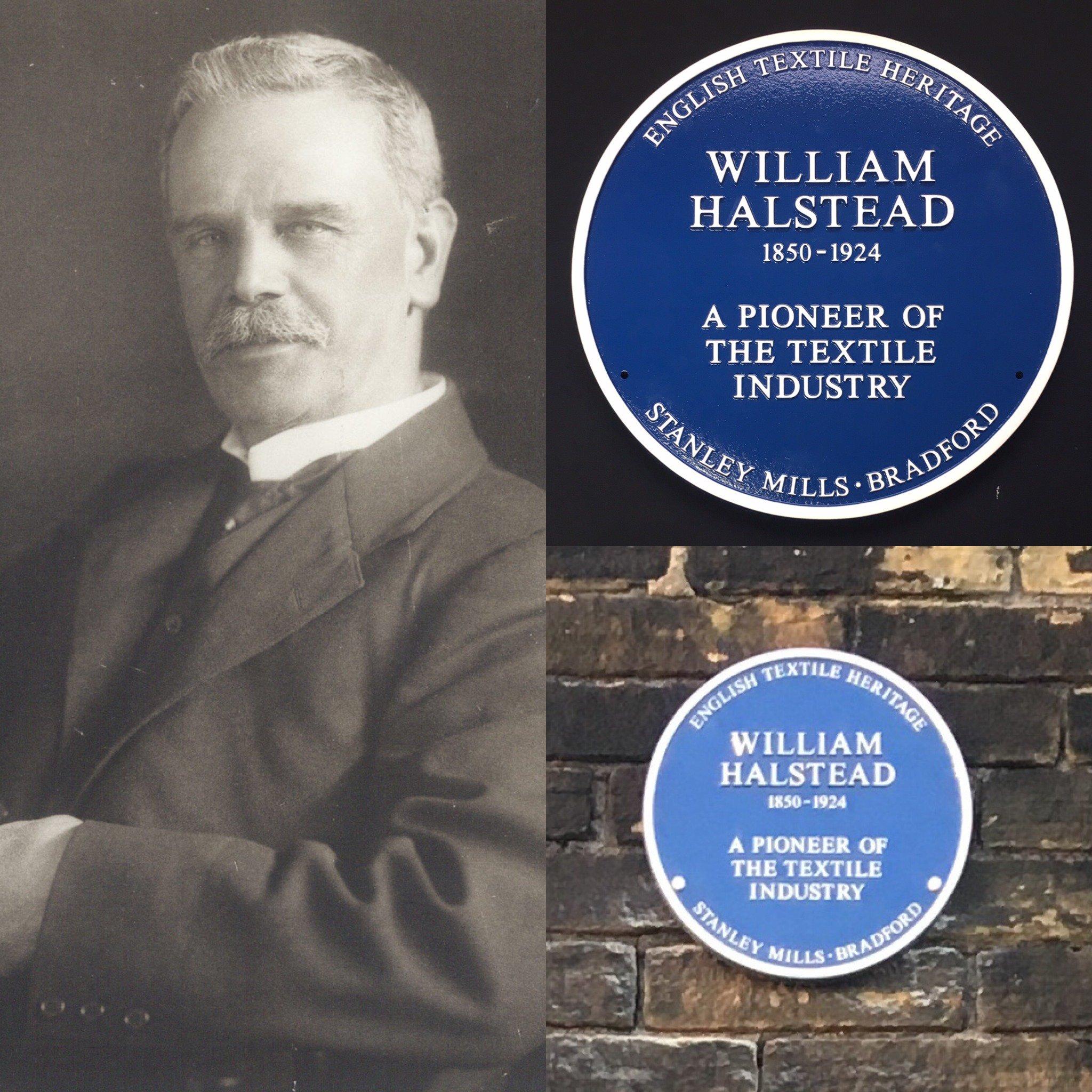 William Halstead Blue Heritage Plaque